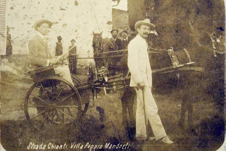 Foto storica Poggio ai Mandorli Chianti Trambusti